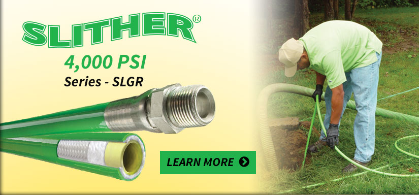 Slither® 4,000 PSI Series - SLGR - Learn More